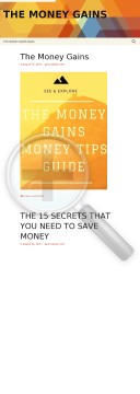 The Money Gains Money Tips preview. Click for more details