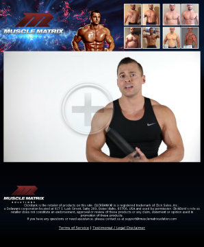 The Muscle Matrix Solution preview. Click for more details