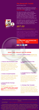 The Nonprofit Toolkit preview. Click for more details