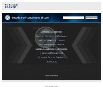 The Official Auto Dealer License Manual preview. Click for more details