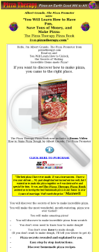The Pizza Therapy Pizza Book. preview. Click for more details