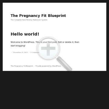 The Pregnancy Fit Blueprint preview. Click for more details