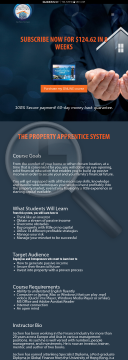 The Property Apprentice System - Online Property Investing Training preview. Click for more details