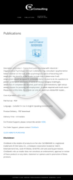 The Psychological Aspects Of Becoming Self-employed preview. Click for more details
