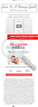 The Relationship Building Package - Earn $33.90 Per Sale! preview. Click for more details