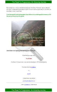 The Road To Forgiveness preview. Click for more details