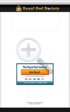 The Royal Owl Society preview. Click for more details