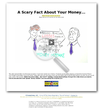 The Salary Negotiation Secret Formula preview. Click for more details