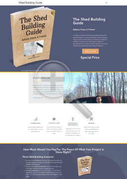The Shed Building Guide - Advice From A Friend preview. Click for more details