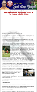The Short Game Blueprint - Cut Your Handicap In Half In 30 Days! preview. Click for more details