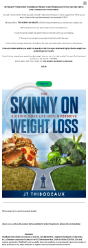 The Skinny On Weight Loss preview. Click for more details