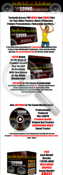 The Sound Membership Monthly For Multimedia Productions. preview. Click for more details