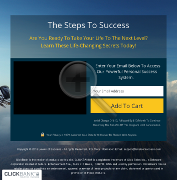The Steps To Success preview. Click for more details