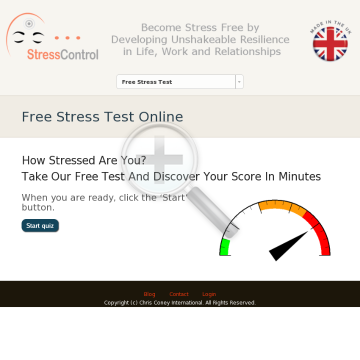 The Stresscontrol System - Online Course In Resilience preview. Click for more details
