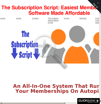The Subscription Script preview. Click for more details