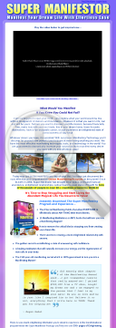 The Super Manifesting Package! preview. Click for more details
