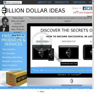 The System For Success - Learn Secrets Of Millionaires & Billionaires preview. Click for more details