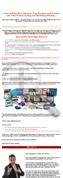 The Ultimate Closing And Marketing Success Library preview. Click for more details