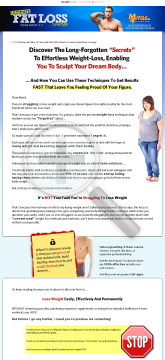 The Ultimate Fat Losss Program preview. Click for more details