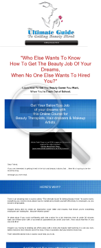 The Ultimate Guide To Getting Beauty Hired preview. Click for more details