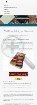 The Ultimate Guide To Male Enhancement preview. Click for more details