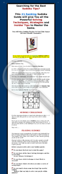 The Ultimate Sudoku Guide. preview. Click for more details
