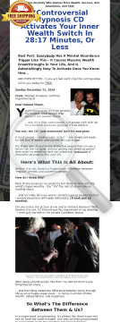 The Wealth Switch: Earn 75% On This Irresistible Wealth Booster! preview. Click for more details