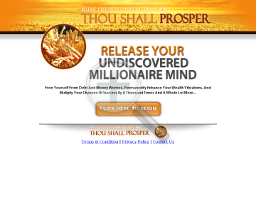 Thou Shall Prosper: We Work Hard To Have It Convert preview. Click for more details