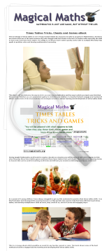 Times Tables Tricks & Cheats Ebook - Wow 75% Commission Per Sale! preview. Click for more details