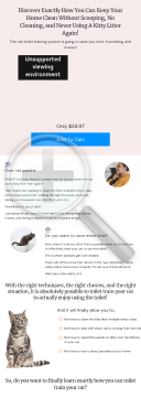 Toilet Training For Cats preview. Click for more details