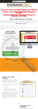 Trackazon - Protecting Your eBay<sup>®</sup> Profits! preview. Click for more details