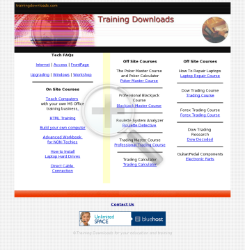 Training On MS Office And HTML preview. Click for more details