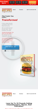 Transforming Recipes, Ultra-low Carb Edition preview. Click for more details
