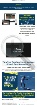 Turn Your Forehand Into A Weapon - Ultimate Online Tennis Course preview. Click for more details