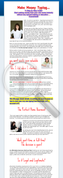 Typing From Home - A Step By Step Guide To Success preview. Click for more details
