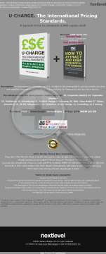 U-charge. The International Pricing Standards. preview. Click for more details