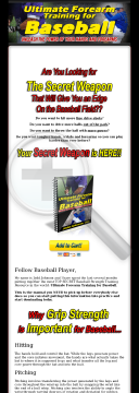 Ultimate Forearm Training For Baseball preview. Click for more details
