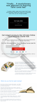 Ultimate Online Tarot Reading Course preview. Click for more details