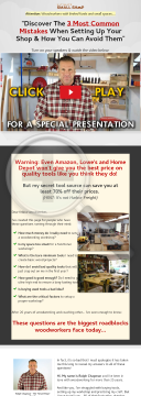 Ultimate Small Shop - The Next Woodworking Blockbuster! preview. Click for more details