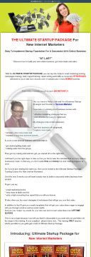 Ultimate Startup Package For New Internet Marketers preview. Click for more details