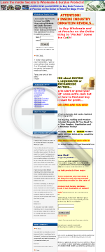 Ultimate Surplus & Wholesale Guide! preview. Click for more details
