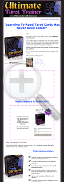 Ultimate Tarot Trainer - Perfect Product For Psychic Niche! preview. Click for more details
