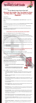 Ultimate Womens Golf Guide preview. Click for more details