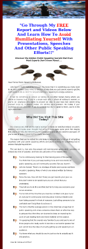 Unique Public Speaking Guide For Shy People preview. Click for more details
