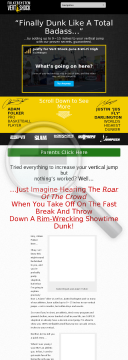 Vertical Jump Training: Vert Shock. Re-bill+upsell+insane Conversions preview. Click for more details