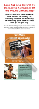 Vic.fit Membership Community preview. Click for more details
