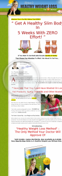 Victoria's Healthy Weight Loss Method preview. Click for more details