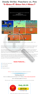 Video Game- Doody Strike: Poachers Vs Poo preview. Click for more details