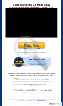 Video Marketing 2.0 Made Easy preview. Click for more details