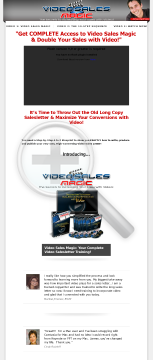 Video Sales Magic preview. Click for more details